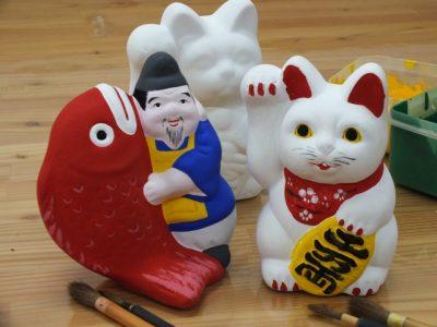 信州中野の「土びな」を代表する2人の人形師が銀座NAGANOに登場。3月31日・4月1日の「ひな市」でしか購入できない作品が当たる抽選会も開催します!