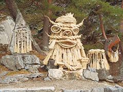 芦ノ尻の道祖神祭り