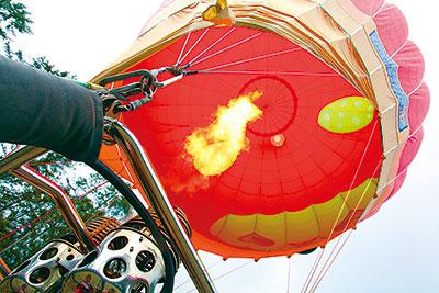 アルクマ熱気球