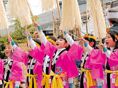 御柱祭を支える諏訪人たち