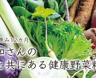 北沢正和さんの暮らしと共にある健康野菜料理講座 【後期全6回】受付開始