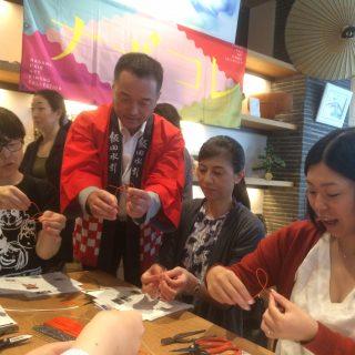 おぐねぇーと学ぶ伝統の美~飯田水引の世界~を開催しました♪