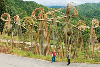 北アルプス国際芸術祭開幕