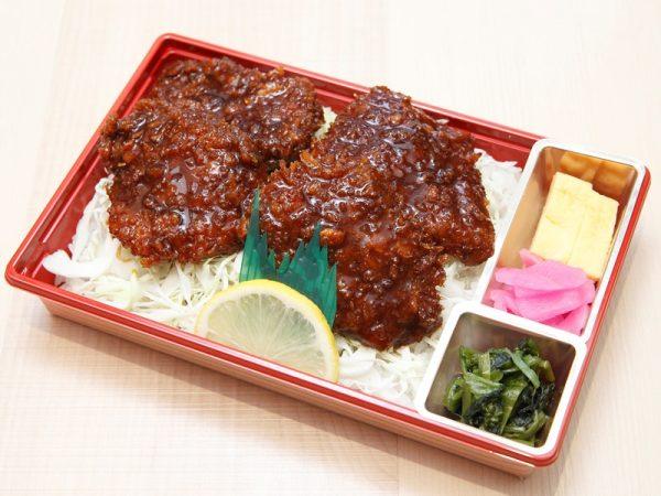 鹿肉ソースかつ丼