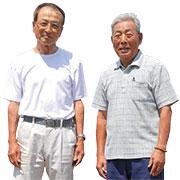 林正隆さん・大野田幸彦さん