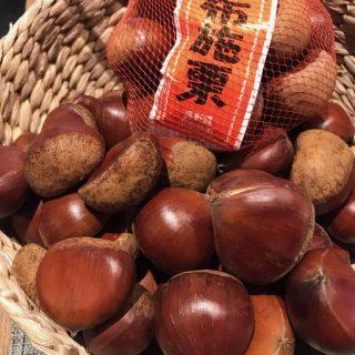 秋のフルーツリレー♪ 小布施の旬が届いています!