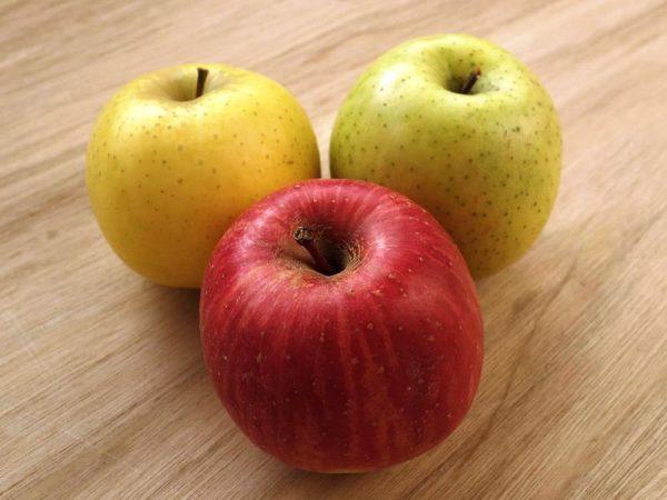 3種りんご