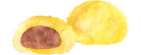 天ぷら饅頭イメージ
