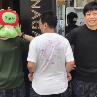 今年は3カラー!!『信州山の日Tシャツ』はLINE登録で得にゲット♪