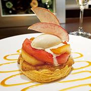 さくさくパイと赤い林檎のキャラメリーゼ(1,500円)