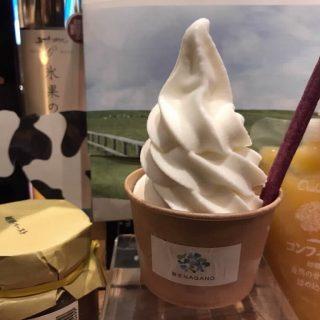 寒くても美味しいソフトクリームが食べたーい(^^)
