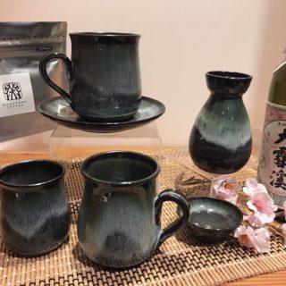 北信濃を代表する焼物「松代焼」で素敵な一杯を(^^)/