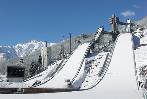白馬ジャンプ競技場画像