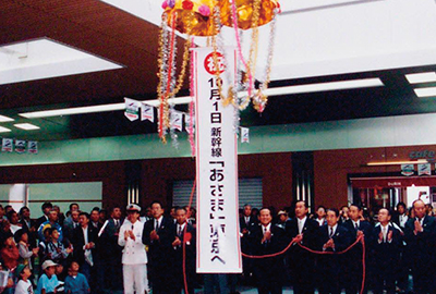 長野新幹線開通画像