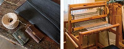 キーケース、機織り機