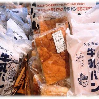 大きくてもペロリといけちゃう♡(´~`) 『牛乳パン』販売再開しました♪
