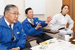 和澤正文さん、竹内巧さん、今井真理子さん