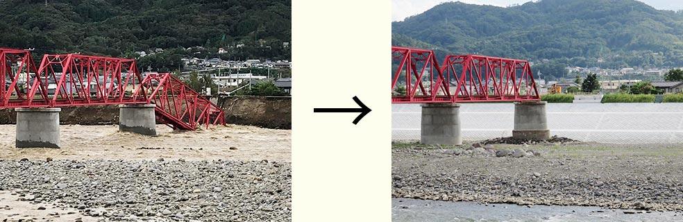 上田電鉄別所線 千曲川橋梁