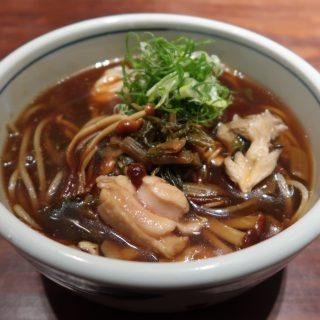 「銀座 真田」で銀座NAGANOとのコラボメニュー『鶏ときのこのすんき蕎麦』を提供中!
