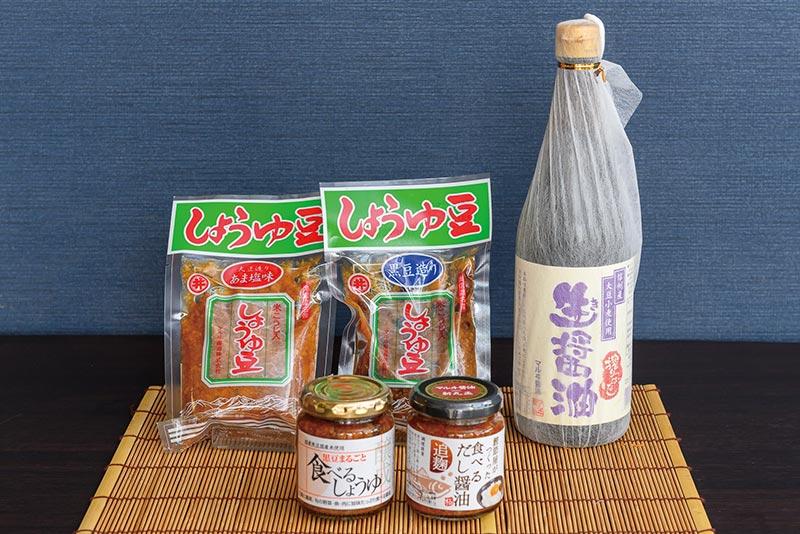 マルヰ醤油商品