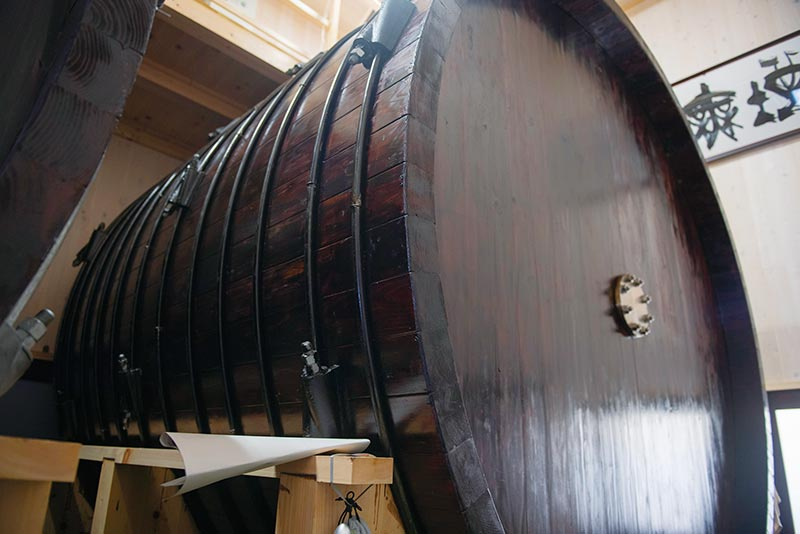 横型の木桶