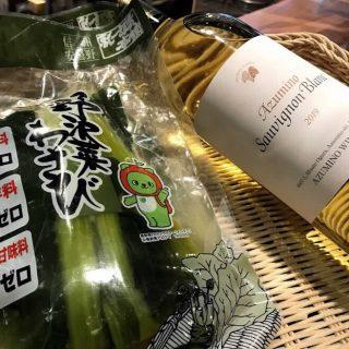銀座NAGANO ソムリエ・花岡純也の<br>avec du NAGANO WINE