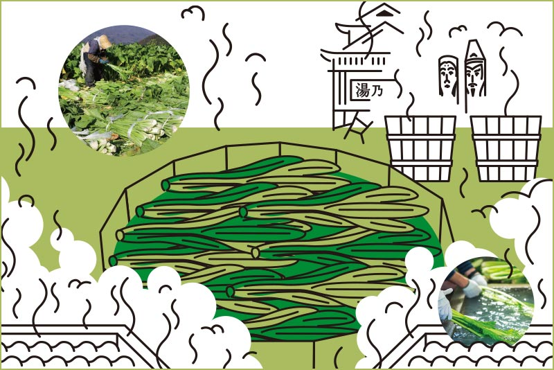 ライフスタイル・オブ・信州「信州の冬の必需品 こたつ、日本茶、野沢菜漬け!」