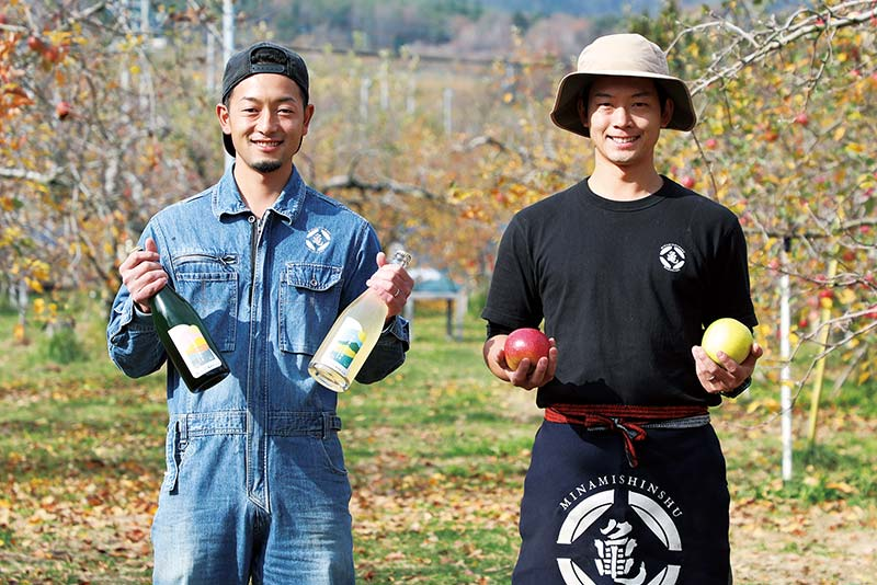 寛さん(左)と毅さん(右)