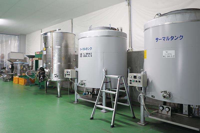 醸造用タンク